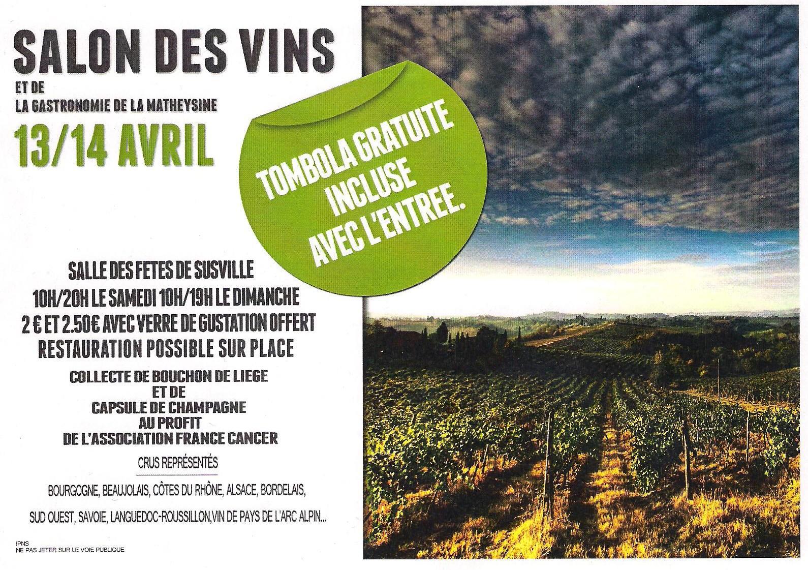 Salon en matheysine vignes et vignerons du tri ves for Calendrier salon des vins